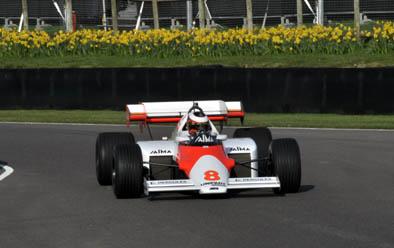 The ex-Niki Lauda McLaren MP4/2
