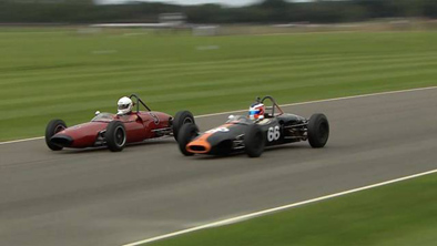 The Formula Junior battle was mighty