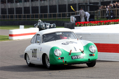 Sam Tordoff stormed through from last to second in the Porsche 356