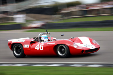 Mike Whittaker was a convincing winner in the Lola T70
