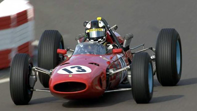 Joe Colasacco claimed a last ditch win in the Ferrari 1512