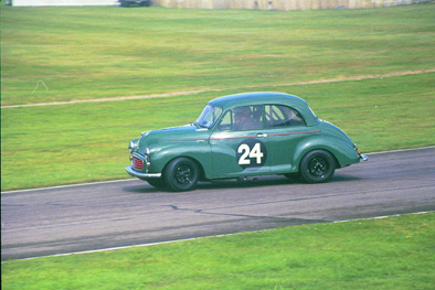 Drifting the Morris Minor 2002
