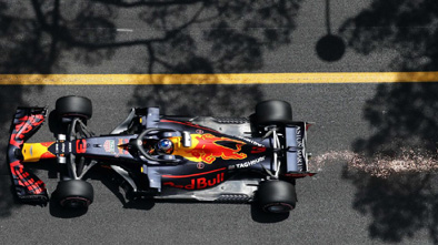 Ricciardo nursed his wounded Red Bull to win