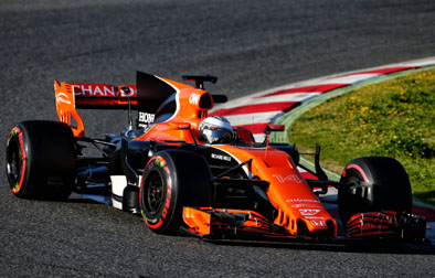 McLaren MCL32 - love the orange