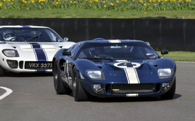 Who could resist a Ford GT40 squabble?