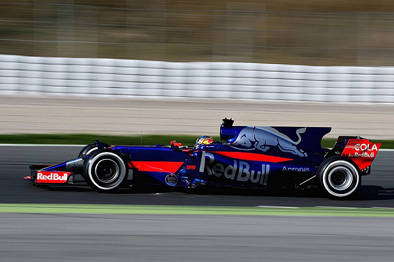 Toro Rosso STR12 - pretty but slow