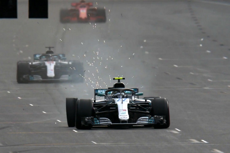 A blow-out buggered Bottas