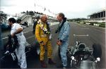 2003 Glover Trophy 9 Richard Attwood BRM P261