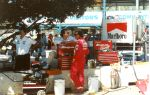 Fittipaldi pits SURFERS INDY 91