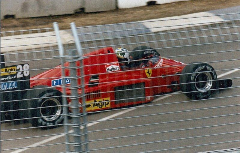 1986 Adelaide F1 28 Stefan Johansson Ferrari F186 2.jpg