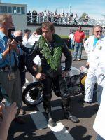 2004 Barry Sheene Memorial Trophy 2 Jamie Whitham Manx Norton 500